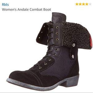 R.B.L.S Black Boots